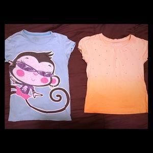 Children's Place Girls Tee Shirts